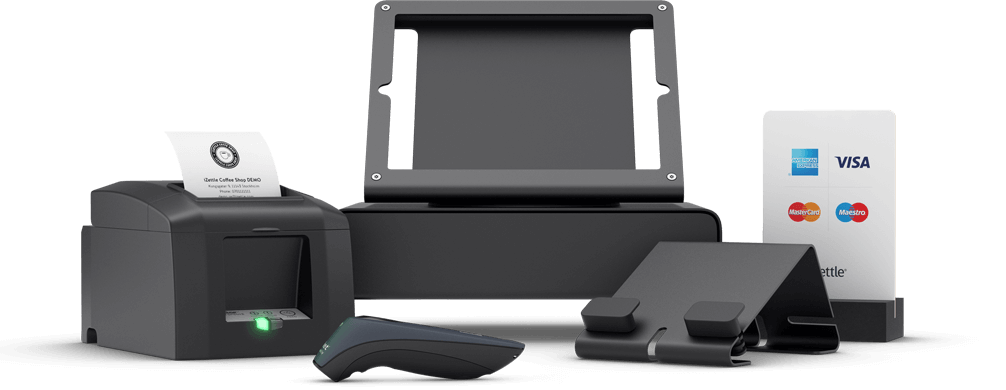 iZettle accessories - receipt printers, cash drawers and barcode scanners