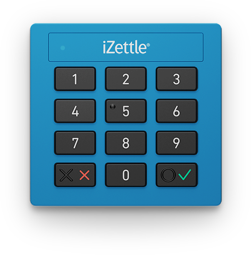 iZettle Lite connects to your tablet or smartphone via the audio jack, and can read magstripe and chip cards.