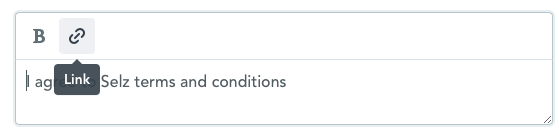 iZettle | Hilfe - How to add Terms and Conditions to your checkout