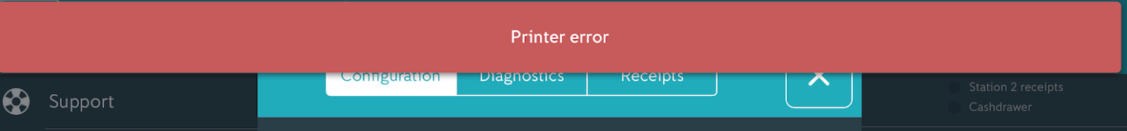 iZettle | Help - Printers