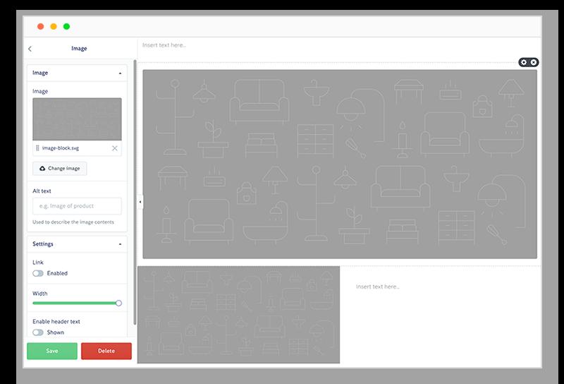 Online store builder features | iZettle E-commerce