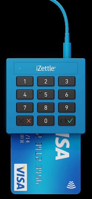 Maquininha de Cartão iZettle Lite