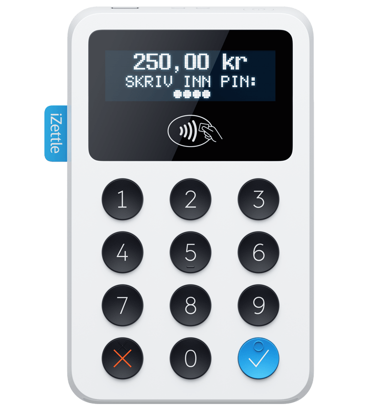 iZettle kortlesere