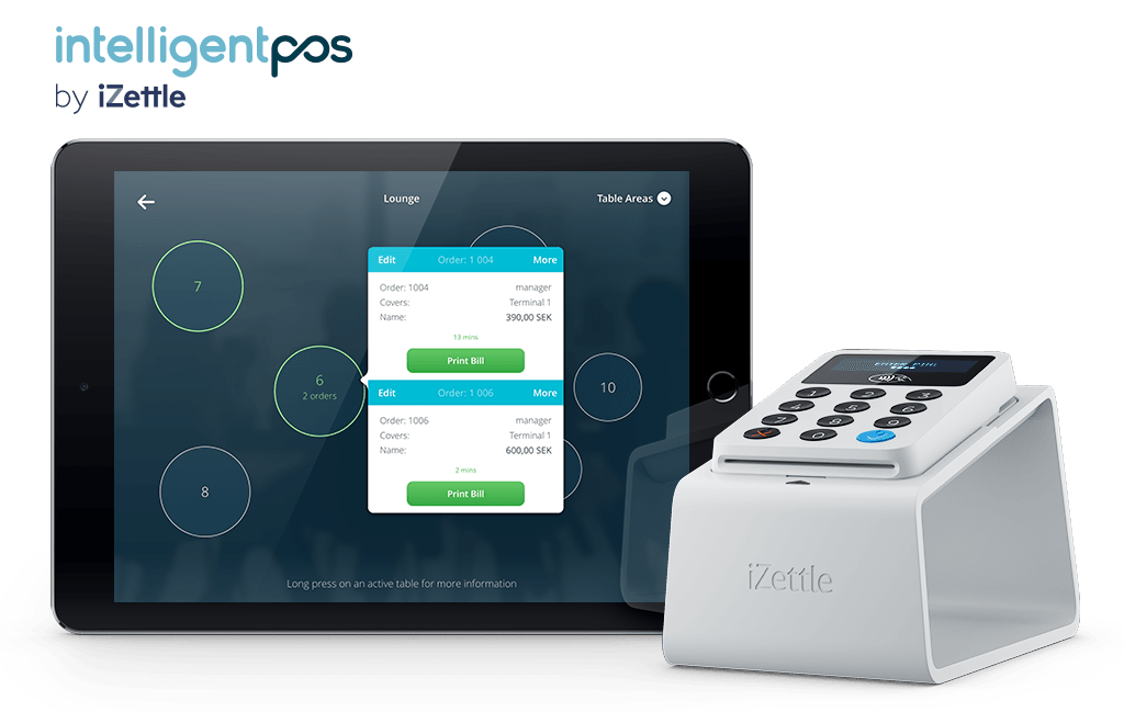 EPOS for restaurants - IPOS and iZettle